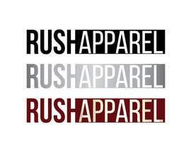 nº 19 pour Brand Logo for Rush Apparel par lounzep