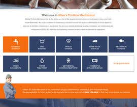 #11 for Design a Website Mockup for Mechanical Service and Repair Contractor by Poornah