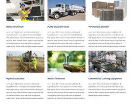 #32 for Design a Website Mockup for Mechanical Service and Repair Contractor by girling