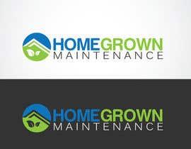 #51 para Design a Logo for Homegrown Maintenance por ROBOMAX1