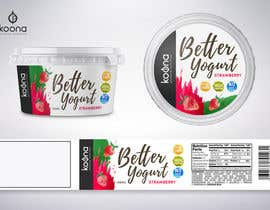 #41 for Packaging design for innovative yogurt by suthemeny