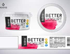 #42 for Packaging design for innovative yogurt by suthemeny