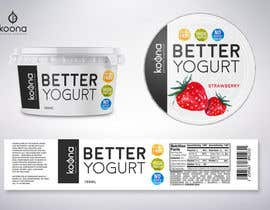 #96 for Packaging design for innovative yogurt by suthemeny