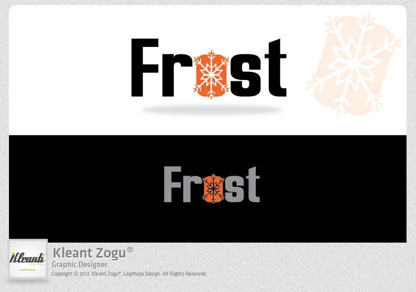 Inscrição nº 243 do Concurso para Logo Design for Frost