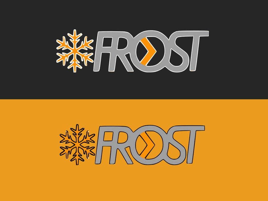 Inscrição nº 217 do Concurso para Logo Design for Frost