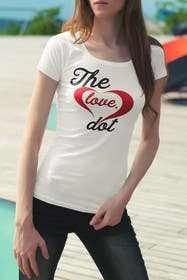 #117 for Design a T-Shirt, the love dot v1 by mariusadrianrusu