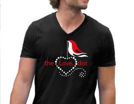 #40 for Design a T-Shirt, the love dot v1 by armamun2021