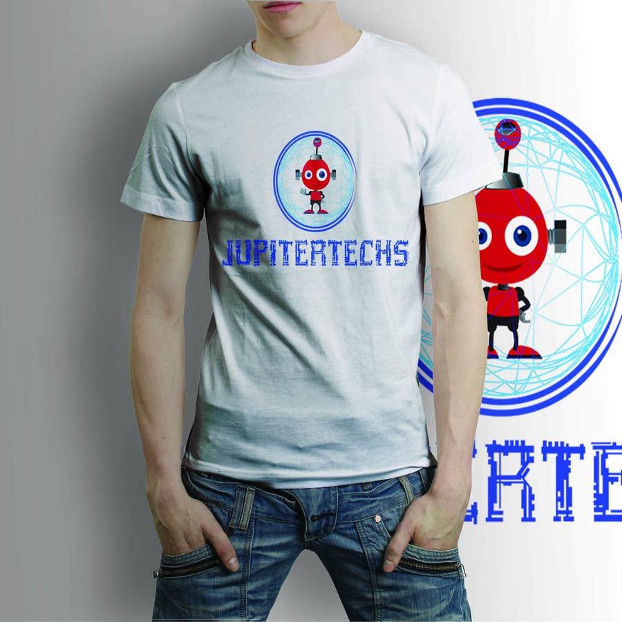 Proposition n°19 du concours Design a FUNNY TECH T-Shirt
