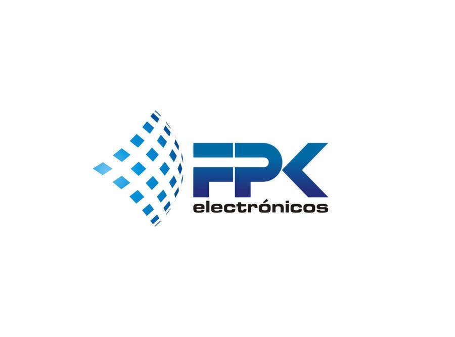 #174 for Logo Design for FPK Electrónicos by flov