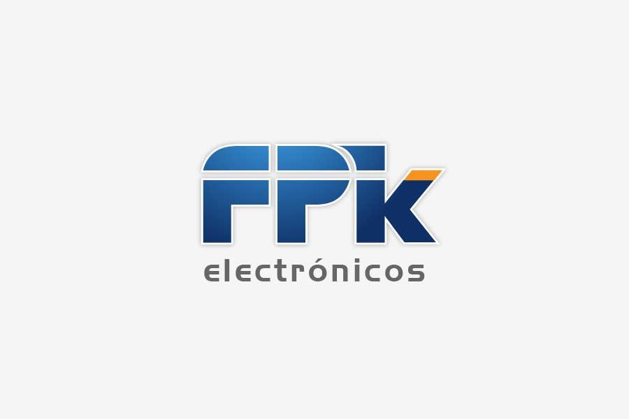 Inscrição nº 273 do Concurso para Logo Design for FPK Electrónicos