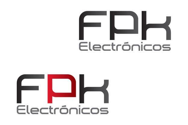 Inscrição nº 100 do Concurso para Logo Design for FPK Electrónicos