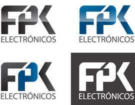 NexusDezign tarafından Logo Design for FPK Electrónicos için no 97
