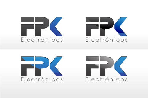 #75 for Logo Design for FPK Electrónicos by logoforwin