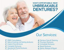 #20 for Design an Denture Clinic Advertisement by phonixiaa