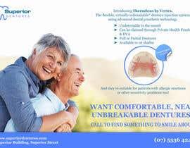 Nro 10 kilpailuun Design an Denture Clinic Advertisement käyttäjältä RobertGitiche