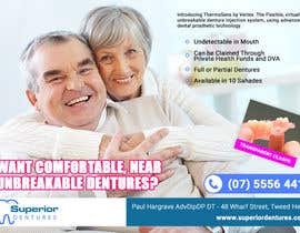 Nro 1 kilpailuun Design an Denture Clinic Advertisement käyttäjältä vmuratarslan