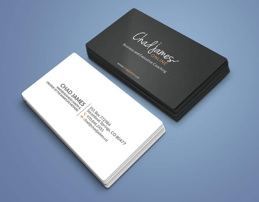 Contest Entry #                                        20                                      for                                         Business Cards for Business Coach
