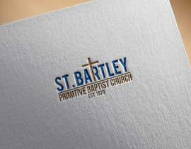 nº 196 pour Logo Design for St Bartley Church par steveraise
