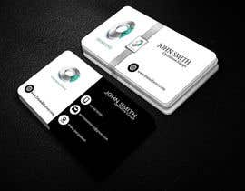 #20 for Quickly design a modern black and silver Business card by earhossain74