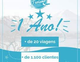 #3 para Design - Aniversário de Empresa - Turismo - 1 ano por BrunoCoutinhoINW