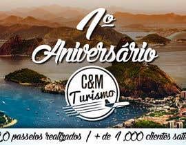 #6 para Design - Aniversário de Empresa - Turismo - 1 ano por marcelomatsumot