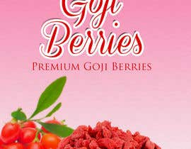 #45 for Label Design -- Goji Berries by greaze