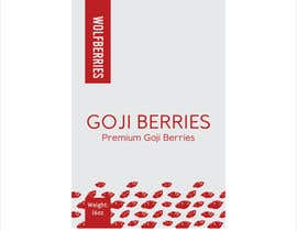 #34 for Label Design -- Goji Berries by lounzep