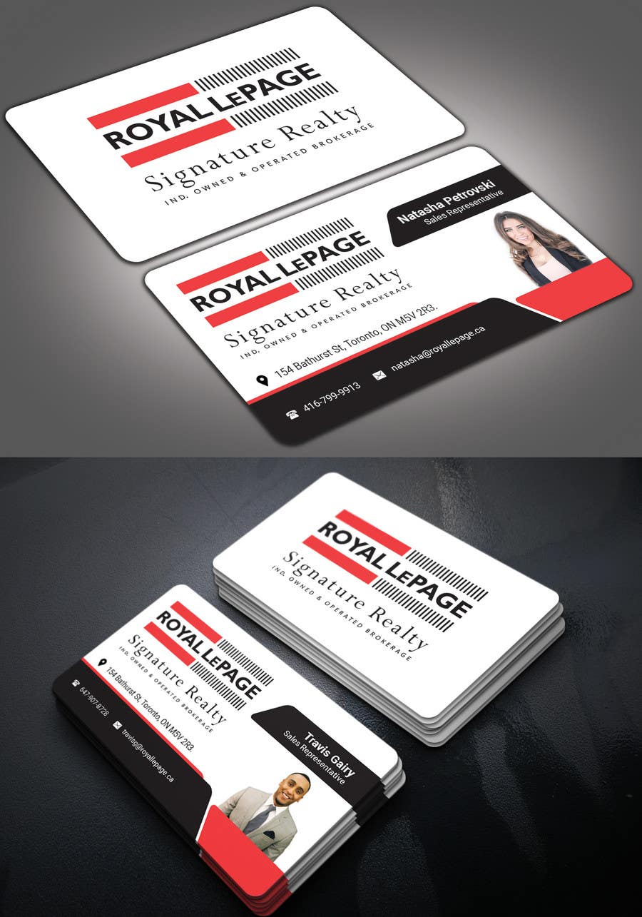 Proposition n°254 du concours Design some Business Cards