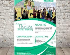 #13 for Design a flyer for fitness business by SubheSaadik