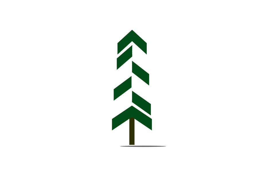entry 41 by dpk013 for design a minimalist pine tree