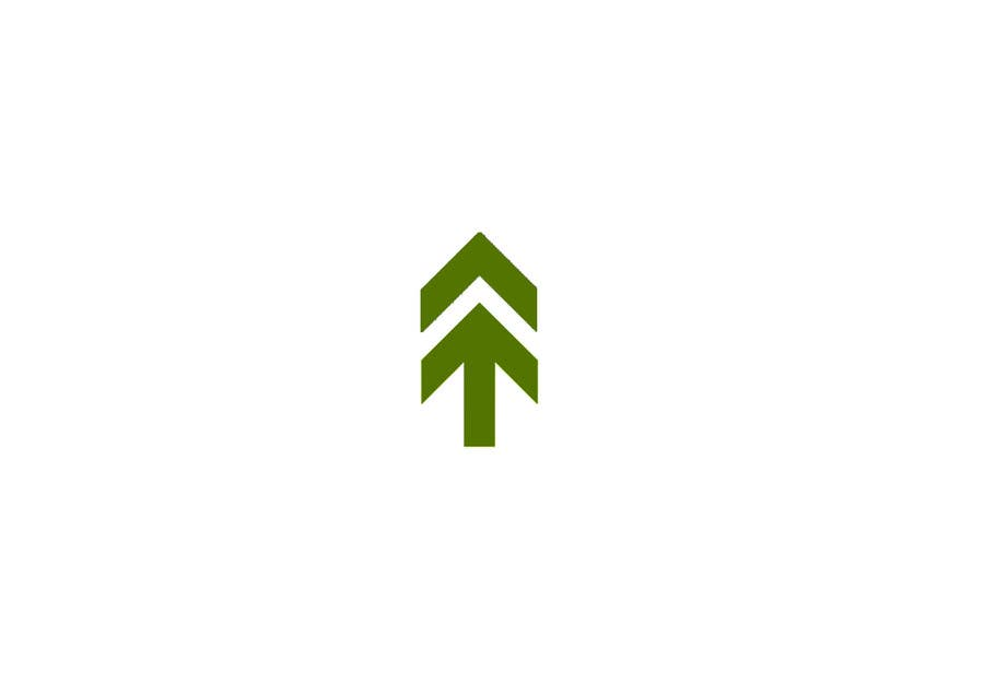 design a minimalist pine tree freelancer