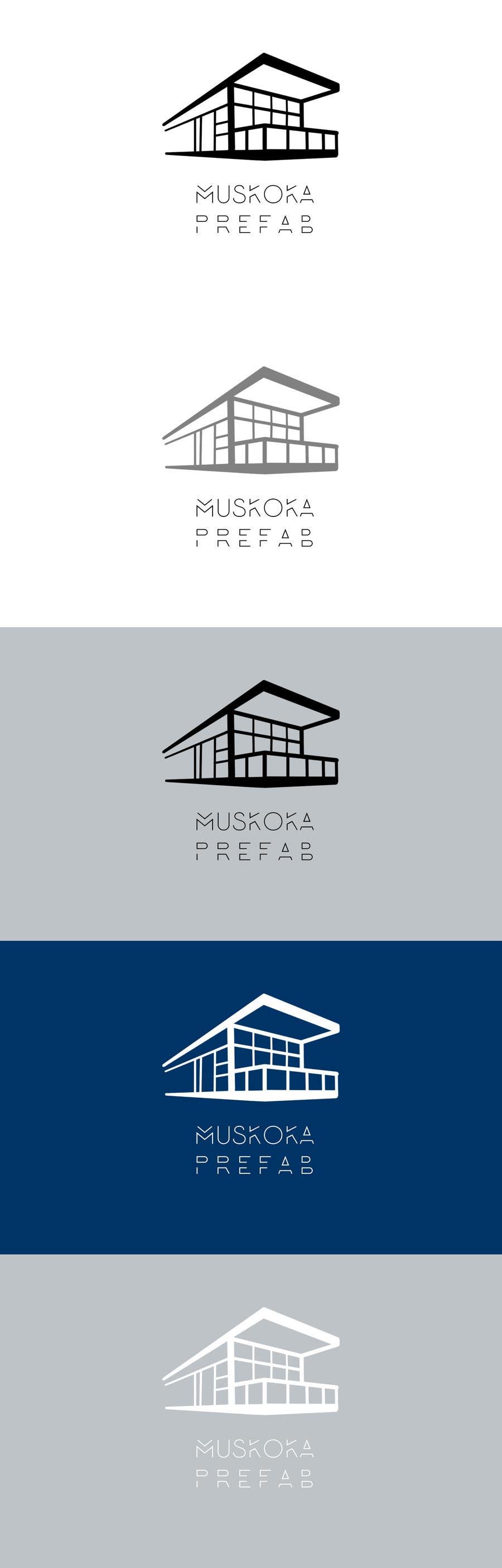 Proposition n°33 du concours Design a Simple Clean Logo - Modern Prefab Homes
