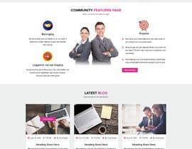 nº 13 pour Design and website Mockup par virajgupta