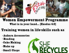 #8 for FLyer design for women empowerment by collinsjessica12
