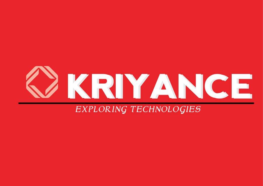 Inscrição nº                                         44                                      do Concurso para                                         Design a Logo for kriyance
