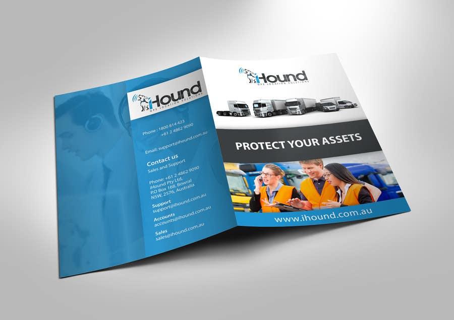 Konkurrenceindlæg #                                        31                                      for                                         Design a Brochure for iHound