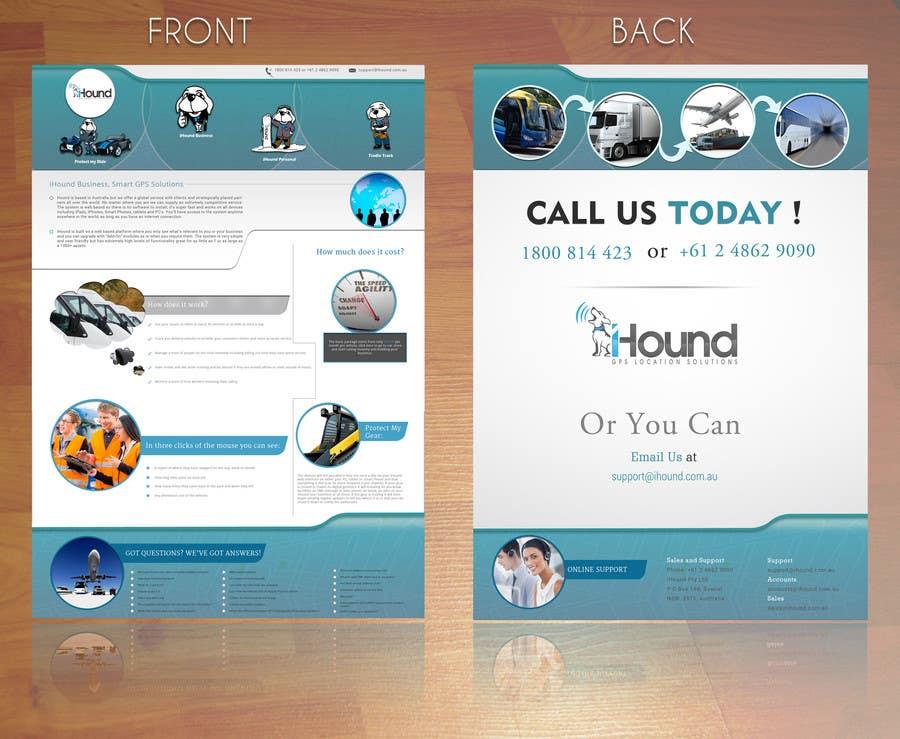 Konkurrenceindlæg #                                        15                                      for                                         Design a Brochure for iHound