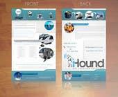 Graphic Design Konkurrenceindlæg #21 for Design a Brochure for iHound