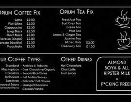 #67 for Coffee Shop Menu Design by reddmac