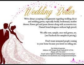 nº 4 pour Advertise bridal consignment business par fariCdkey