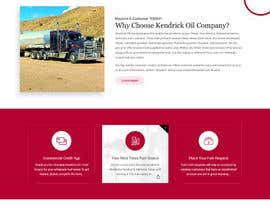nº 10 pour Design a Website Mockup for Oil and Gas Company par zaxsol