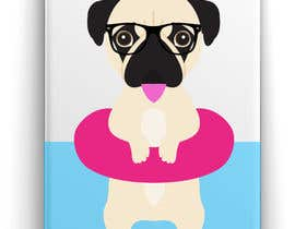 #3 for Swimming Pug Illustration Required by ricardohc1988