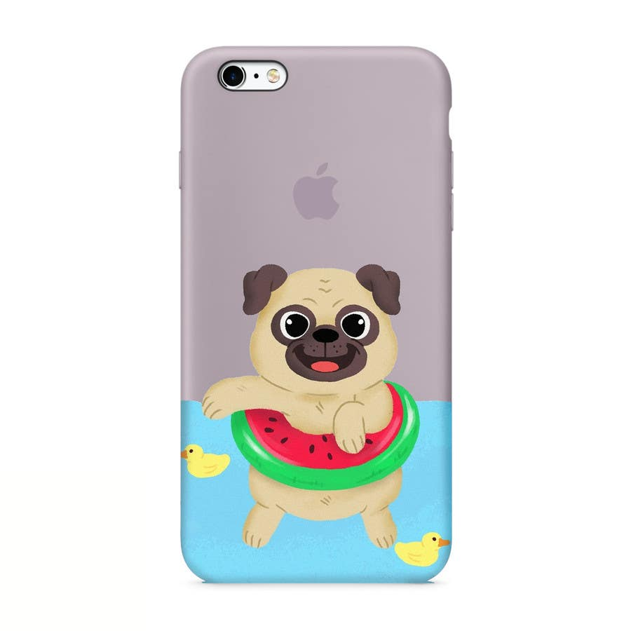 Proposition n°13 du concours Swimming Pug Illustration Required
