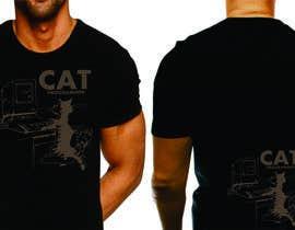 """nº 21 pour T-shirt design """"Cat-programmer"""" par azmantony74"""