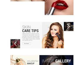 nº 4 pour Glam Makeup Website par saidesigner87