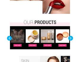 nº 7 pour Glam Makeup Website par saidesigner87