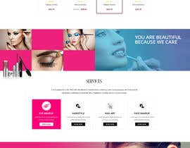 nº 56 pour Glam Makeup Website par marttosmusic