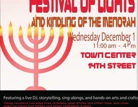 #8 for Graphic Design for TicketPrinting.com HANUKKAH POSTER & EVENT TICKET af akhiladecosta