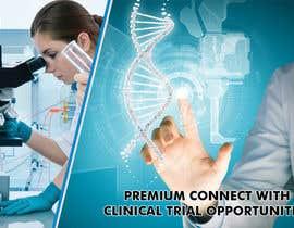 nº 11 pour Design a banner for clinical research web app par savitamane212