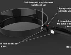 Nro 17 kilpailuun Design a new handle for cookware (frypan ,pot )  that can turn in to the pot. käyttäjältä ahmadnazree